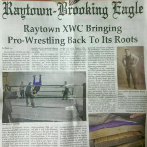 Xwc Pro Wrestling training Kansas City